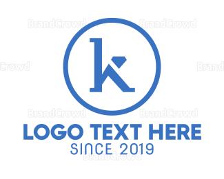 Jewelry - Minimalist K Jewelry logo design