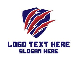 Fortnite - Claw Shield logo design
