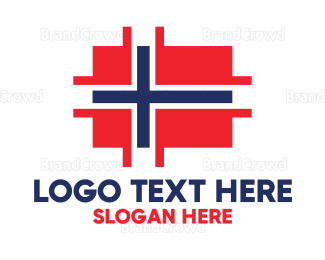 Berlin - Modern Norway Tech logo design