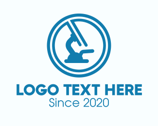 Science - Blue Science Laboratory logo design