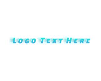 Postal - Blue Fast Gradient logo design