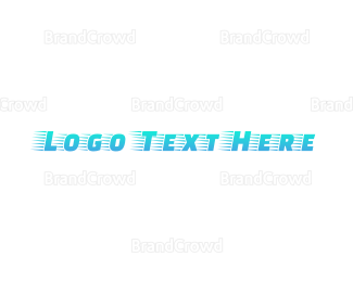 Messenger - Blue Fast Gradient logo design