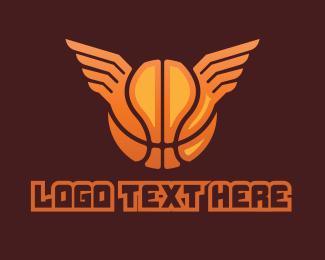 Wings - Basketball Wings logo design