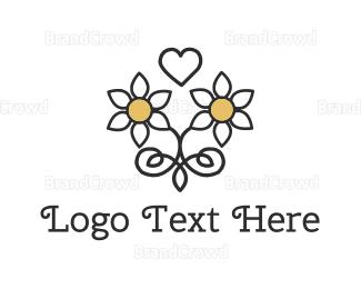 Dating - Daisy Love logo design