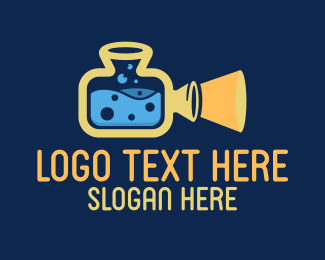 Lab - Movie Lab logo design
