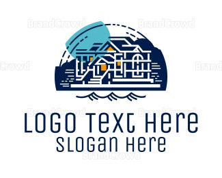 Aspen - Blue Lake House logo design