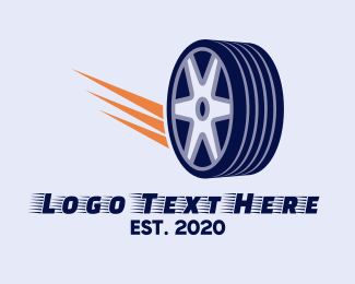 Tire - Tire Wheel logo design