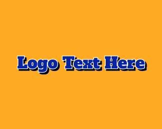 Student - Varsity Text logo design