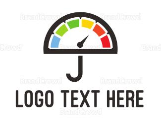 Umbrella - Umbrella Meter logo design