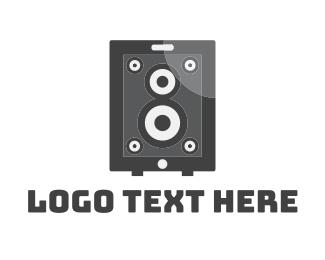 App - App Speaker logo design