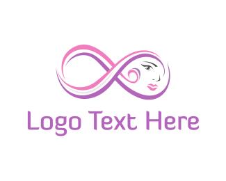 Lips - Infinity Face logo design