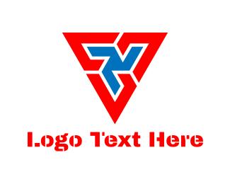 Triangular - Tech Triangle logo design