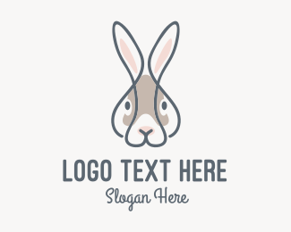 """Cute Bunny Rabbit"" by eyed"