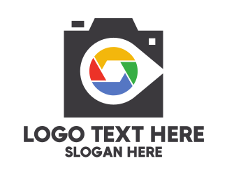 Photo Album - Colorful Shutter Studio logo design