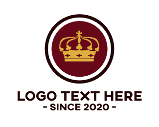 Sovereign - Royal Crown logo design