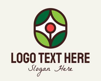 House Plant - Eco Flower Plant  logo design
