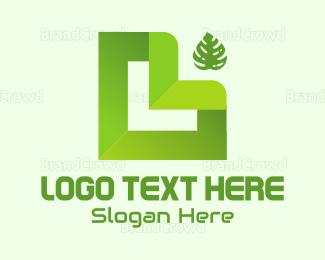 Letter L - Abstract Letter L logo design