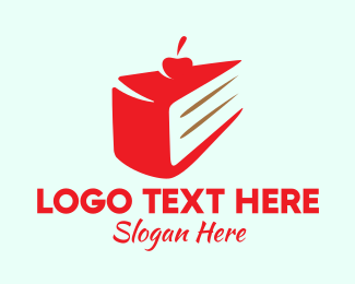 Sweets - Cherry Cake  logo design