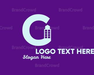 Condominium - Bold Letter G Building logo design