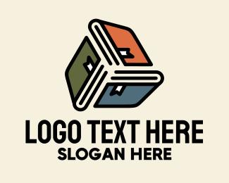 University - Reading Education Books logo design