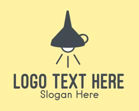 Light - Funnel Lamp Light logo design