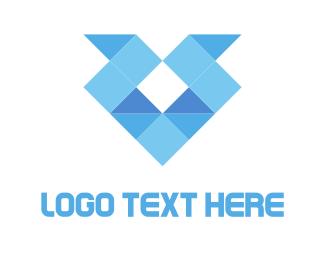 Diamond Origami Logo