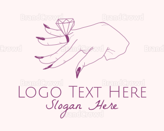 Ring - Diamond Ring logo design