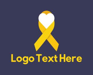 Support - Yellow Ribbon logo design