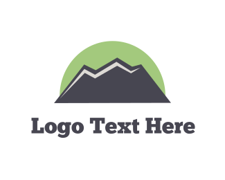 Rucksack - Green Mountain  logo design