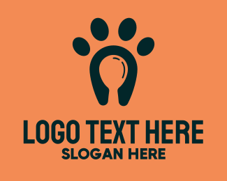 Pet Food - Dog Food Paw logo design
