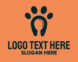 Hungry - Dog Food Paw logo design