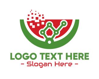 Machinery - Molecular Watermelon Gastronomy logo design