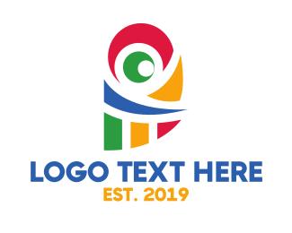 Publishing - Colorful Parrot logo design