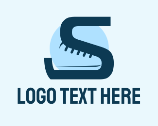 """Letter S Shoe"" by FishDesigns61025"