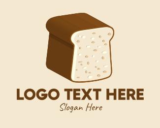 3d - 3D Bread Loaf logo design