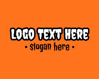 Slimy - Pumpkin Halloween logo design