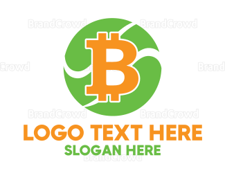 Credit - Bitcoin Cryptocurrency logo design