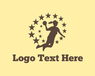 Sports - Handball Star logo design