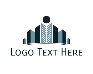 Blue City - Royal City logo design