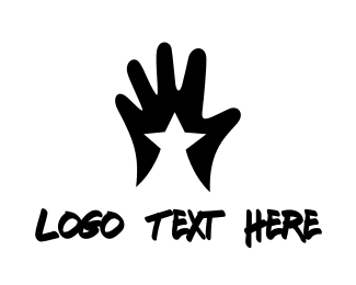 Hope - Star Hand  logo design