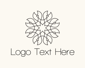 Flower - Pincer Flower logo design