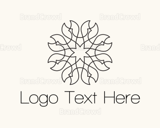 Flower Shop - Pincer Flower logo design