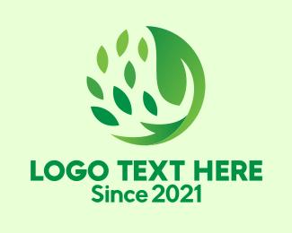 Revitalize - Herbal Leaf Spa logo design