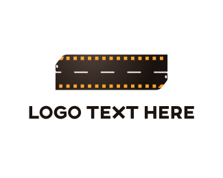 Animation - Film Strip  logo design
