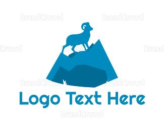 Sheep - Wild Goat logo design