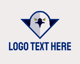 Varsity - Furious Varsity Eagle logo design