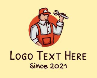 Mechanic - Repair Handyman Mechanic logo design