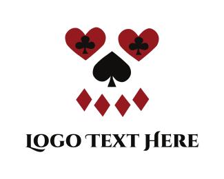 Gambling - Poker Face logo design