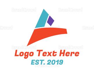 Shape - Colorful Shape C logo design
