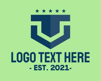 Batallion - Modern Military Badge logo design